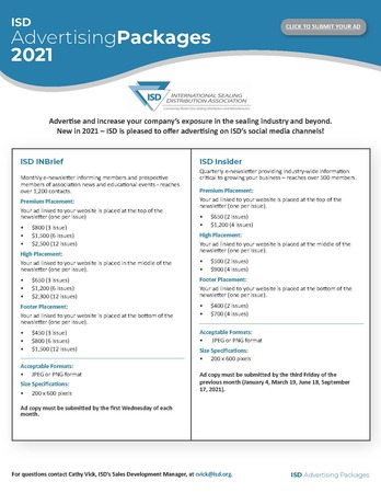 2021 ISD Advertising Opportunities